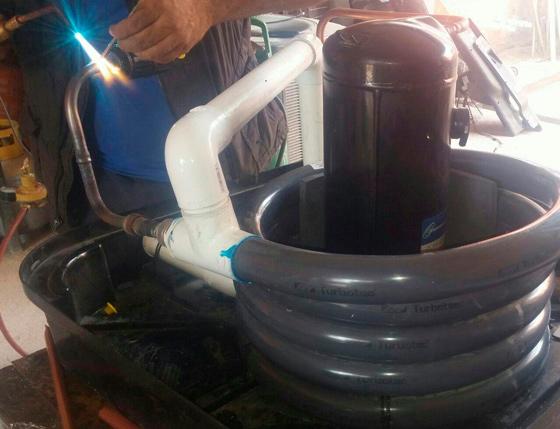 mantenimiento de bombas de calor para alberca